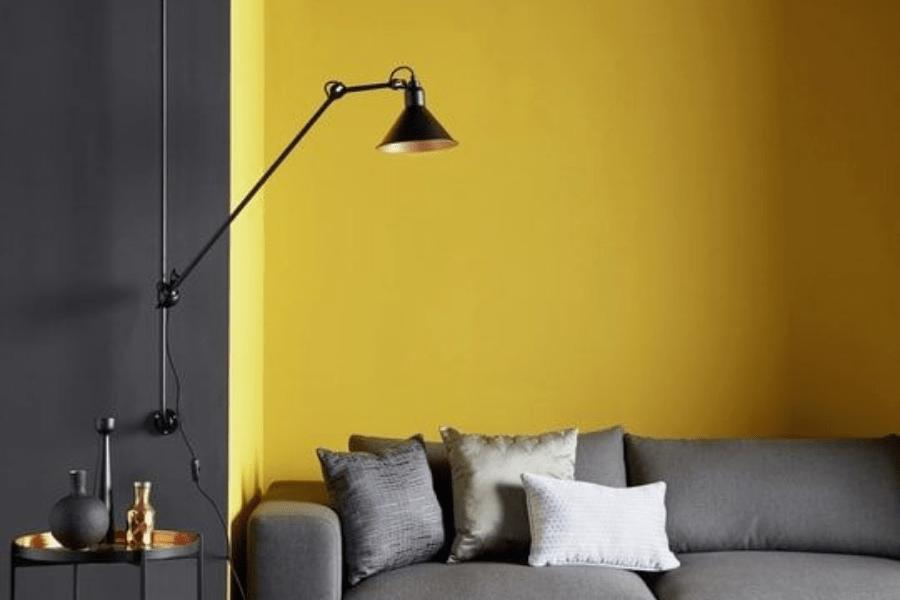 jaune décoration