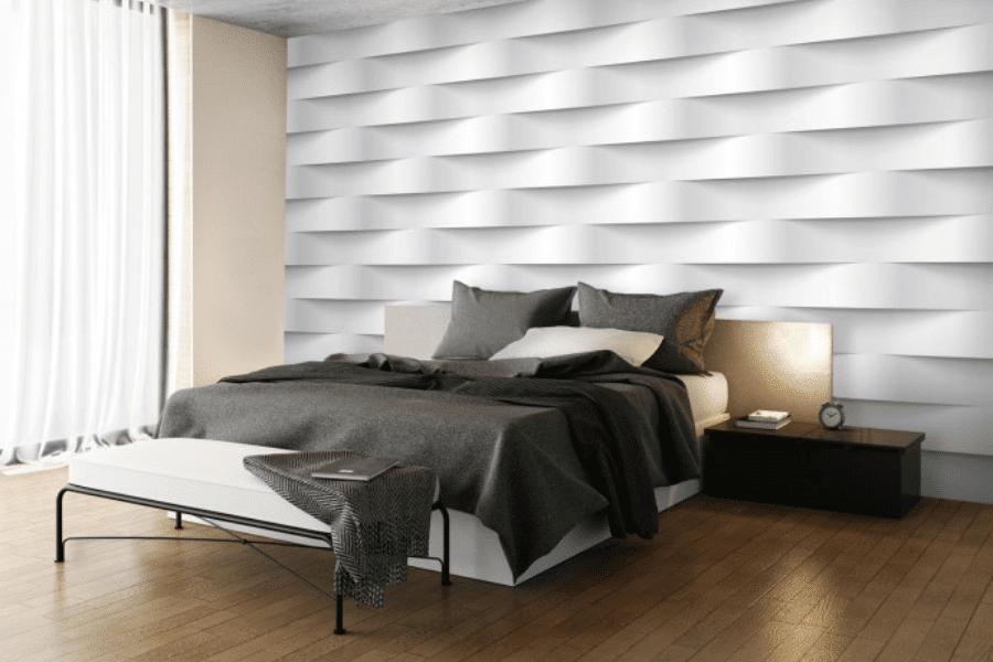 papier peint 3D illusion chambre